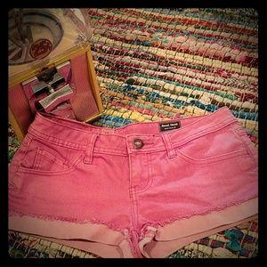 Volcom Distressed Jean Shorts